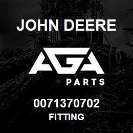 0071370702 John Deere Fitting | AGA Parts