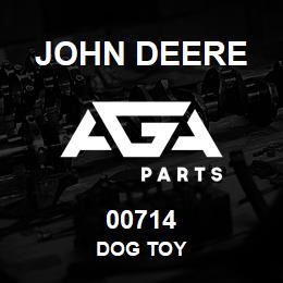00714 John Deere DOG TOY | AGA Parts