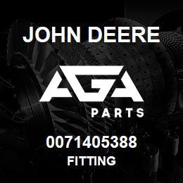 0071405388 John Deere Fitting | AGA Parts