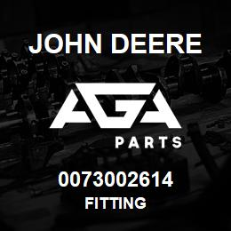 0073002614 John Deere Fitting | AGA Parts