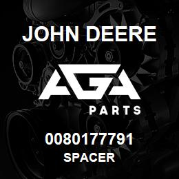 0080177791 John Deere Spacer | AGA Parts