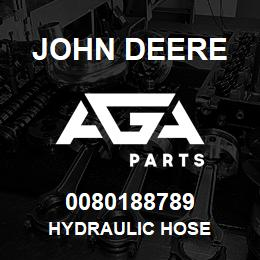 0080188789 John Deere Hydraulic Hose | AGA Parts