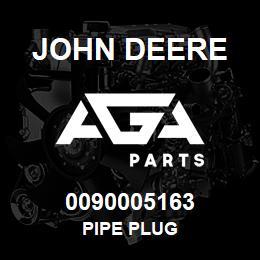 0090005163 John Deere Pipe Plug | AGA Parts