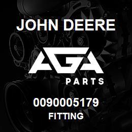 0090005179 John Deere Fitting | AGA Parts