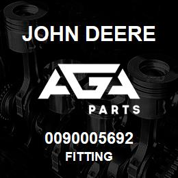 0090005692 John Deere Fitting | AGA Parts