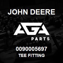 0090005697 John Deere Tee Fitting | AGA Parts