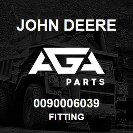 0090006039 John Deere Fitting | AGA Parts