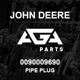 0090009690 John Deere Pipe Plug | AGA Parts