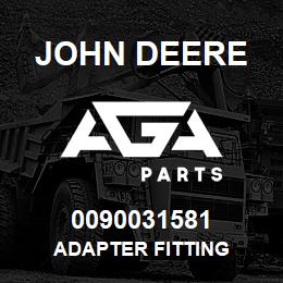 0090031581 John Deere Adapter Fitting | AGA Parts