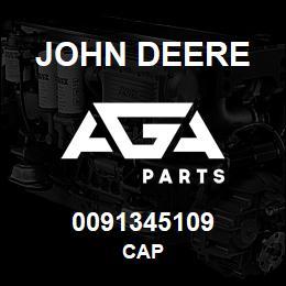 0091345109 John Deere Cap | AGA Parts