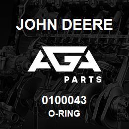 0100043 John Deere O-Ring | AGA Parts