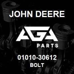 01010-30612 John Deere Bolt | AGA Parts