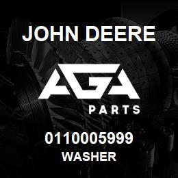 0110005999 John Deere Washer | AGA Parts