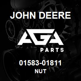 01583-01811 John Deere Nut | AGA Parts