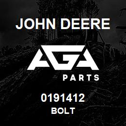 0191412 John Deere BOLT | AGA Parts