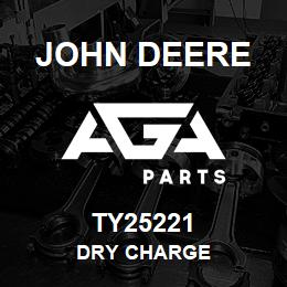 TY25221 John Deere Dry Charged Battery | AGA Parts