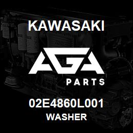 02E4860L001 Kawasaki WASHER | AGA Parts