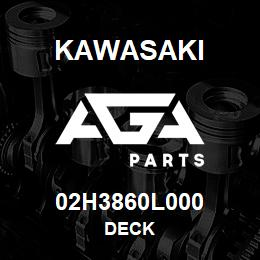 02H3860L000 Kawasaki DECK | AGA Parts