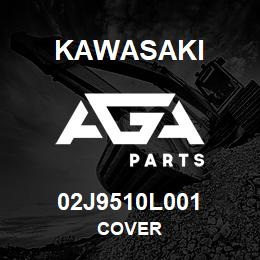 02J9510L001 Kawasaki COVER | AGA Parts