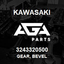 3243320500 Kawasaki GEAR, BEVEL | AGA Parts