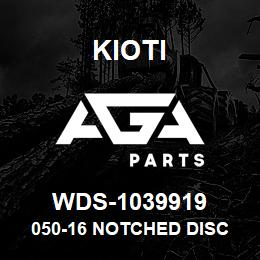 WDS-1039919 Kioti 050-16 NOTCHED DISC BLADE | AGA Parts