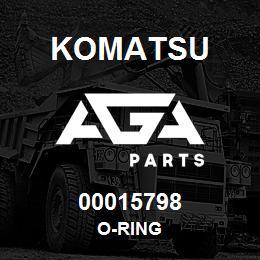 00015798 Komatsu O-RING | AGA Parts