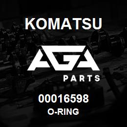 00016598 Komatsu O-RING | AGA Parts