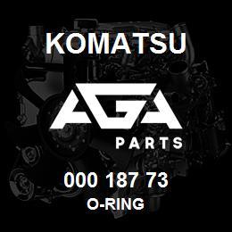 000 187 73 Komatsu O-ring | AGA Parts