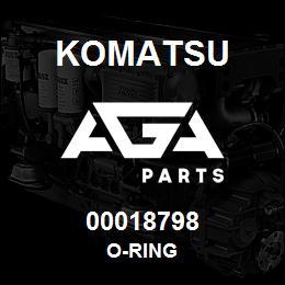 00018798 Komatsu O-RING | AGA Parts
