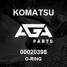 00020398 Komatsu O-RING | AGA Parts