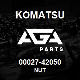 00027-42050 Komatsu NUT   AGA Parts