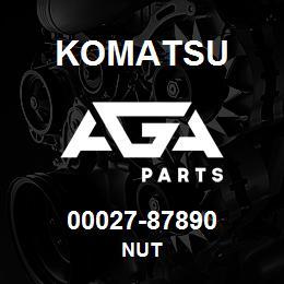 00027-87890 Komatsu NUT | AGA Parts