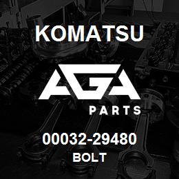 00032-29480 Komatsu BOLT | AGA Parts