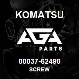 00037-62490 Komatsu SCREW | AGA Parts