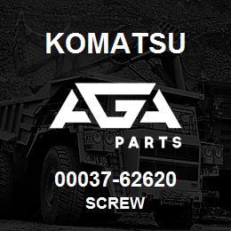 00037-62620 Komatsu SCREW   AGA Parts