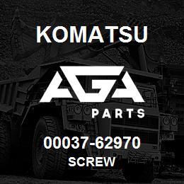 00037-62970 Komatsu SCREW | AGA Parts