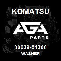 00039-51300 Komatsu WASHER | AGA Parts
