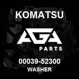 00039-52300 Komatsu WASHER | AGA Parts
