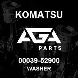 00039-52900 Komatsu WASHER | AGA Parts