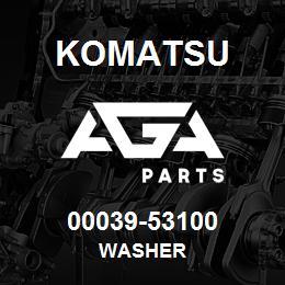 00039-53100 Komatsu WASHER   AGA Parts
