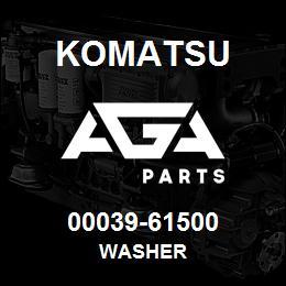 00039-61500 Komatsu WASHER | AGA Parts