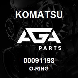 00091198 Komatsu O-RING | AGA Parts