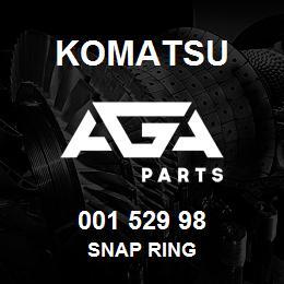001 529 98 Komatsu Snap ring | AGA Parts