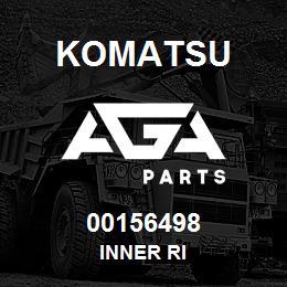 00156498 Komatsu INNER RI | AGA Parts