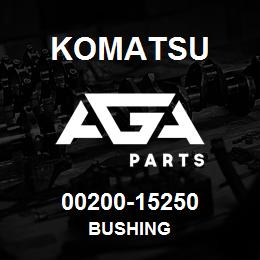 00200-15250 Komatsu BUSHING   AGA Parts