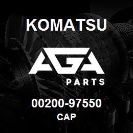 00200-97550 Komatsu CAP | AGA Parts