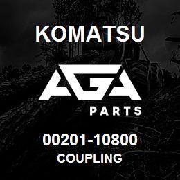 00201-10800 Komatsu COUPLING   AGA Parts
