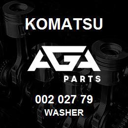 002 027 79 Komatsu Washer   AGA Parts