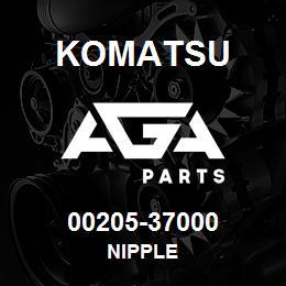 00205-37000 Komatsu NIPPLE   AGA Parts