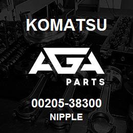 00205-38300 Komatsu NIPPLE | AGA Parts